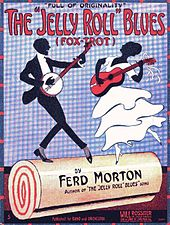 Jelly Roll Blues Sheet Music Cover